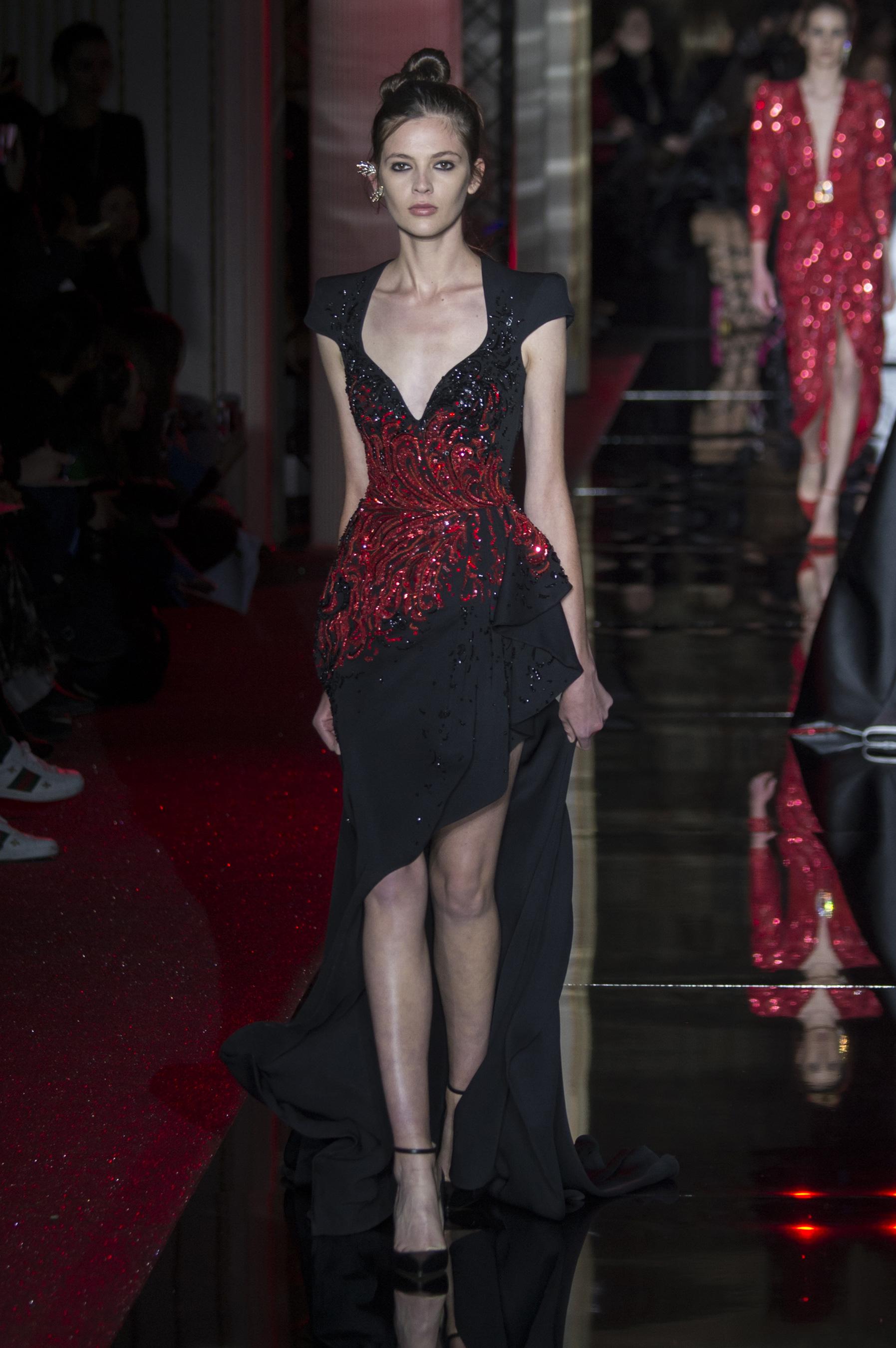 ... Zuhair Murad Haute Couture printemps-été 2017 - Paris - Elle