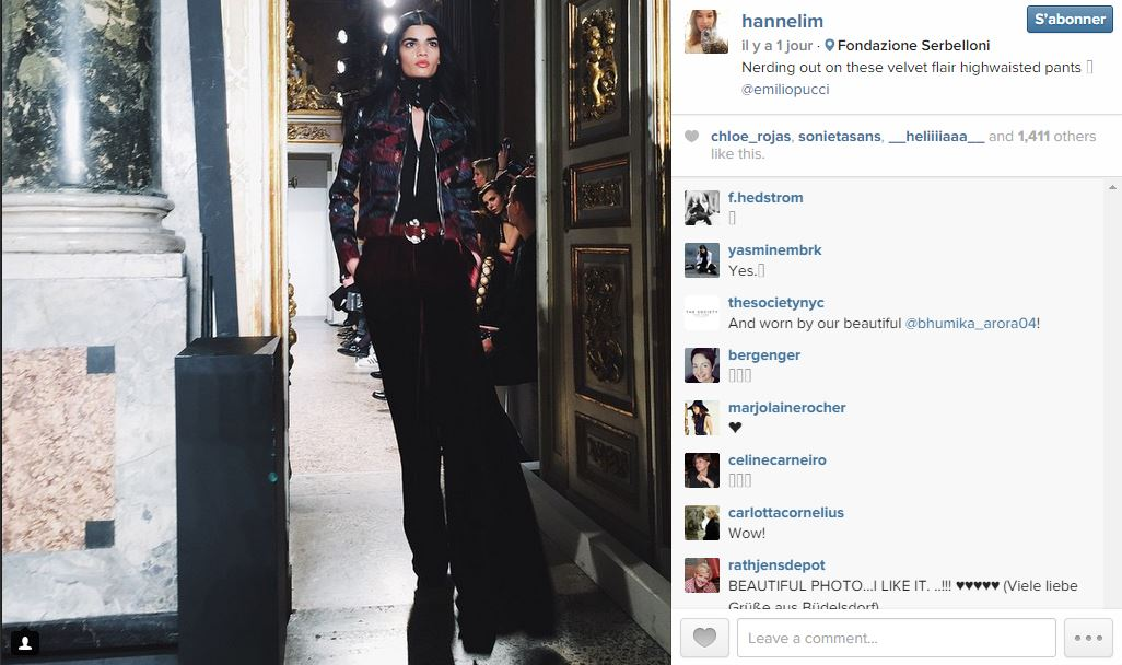Hanneli mustaparta les 101 comptes instagram suivre pendant la fashion week elle - Qui suivre sur instagram ...
