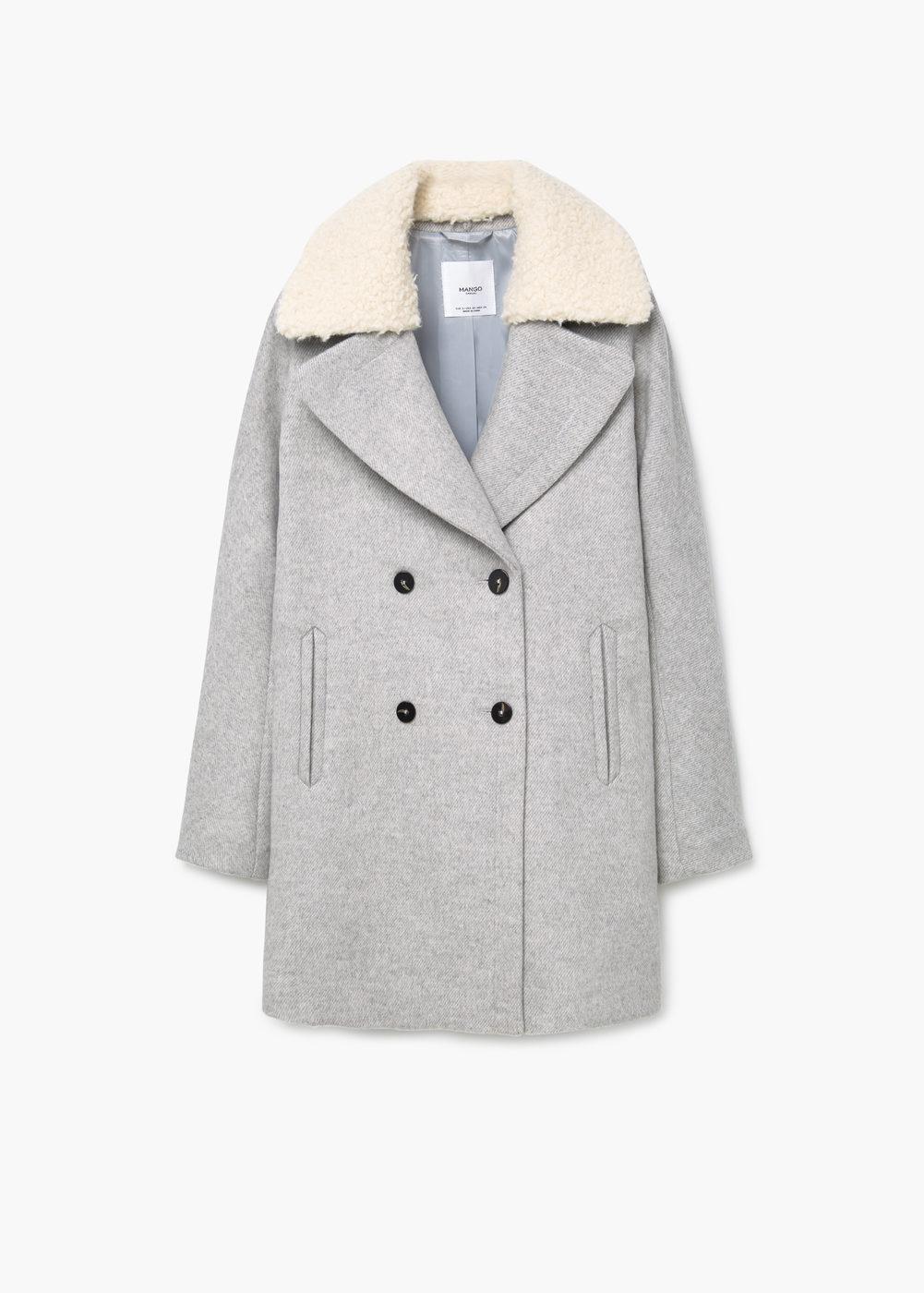 Manteau femme hiver 2014 mango