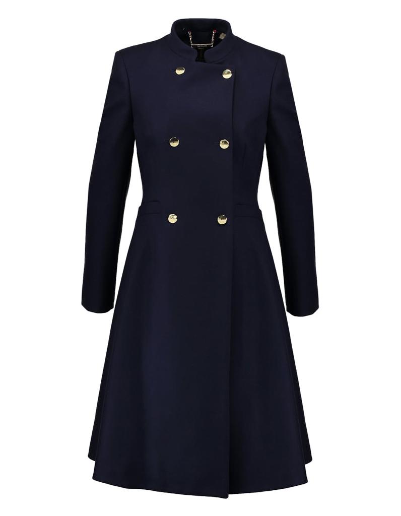 manteau officier col mao 14 manteaux officier pour un hiver styl elle. Black Bedroom Furniture Sets. Home Design Ideas