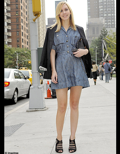 Mode Defiles New York Street Style 3 Fashion Week Les