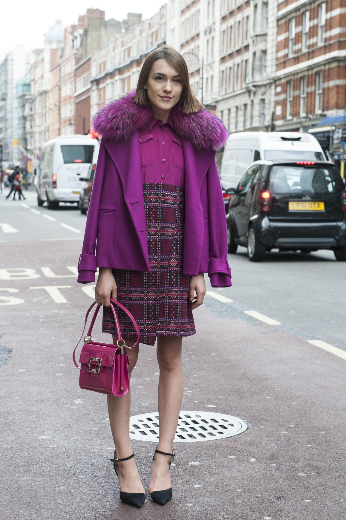 Look Vintage Color Chic Le Look Vintage Elle