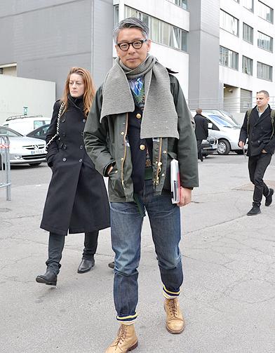mode street style homme look tendances defiles haute couture paris 49 street style les mecs. Black Bedroom Furniture Sets. Home Design Ideas