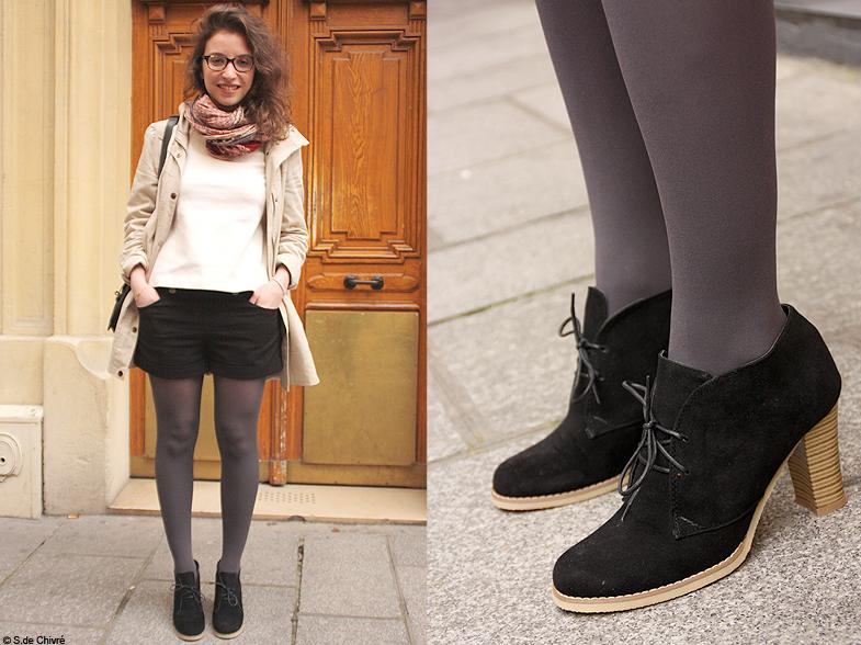mode street style chaussures chloe street style vos chaussures pr f r es elle. Black Bedroom Furniture Sets. Home Design Ideas