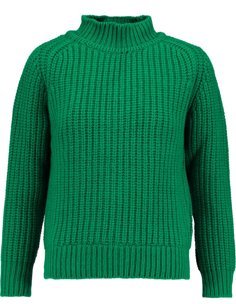 pull en laine vert maison kitsune 30 pulls en laine pour. Black Bedroom Furniture Sets. Home Design Ideas