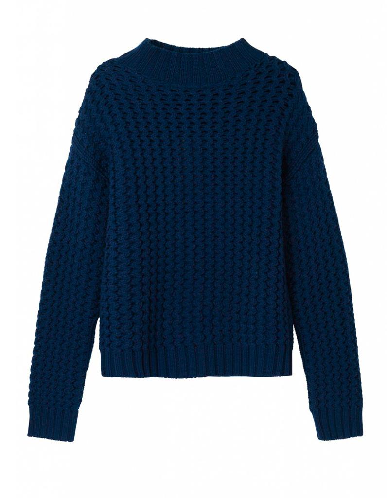 pull bleu marine g rard darel on veut toutes un pull bleu marine elle. Black Bedroom Furniture Sets. Home Design Ideas
