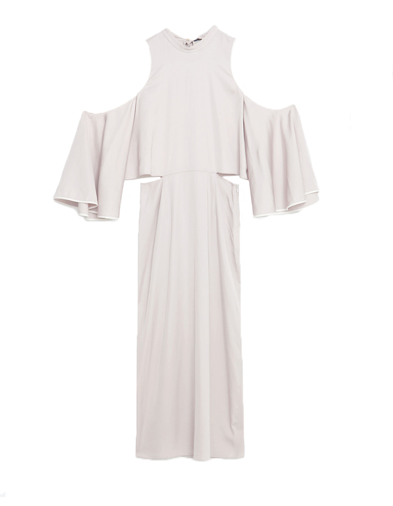 robe blanche soiree zara la mode des robes de france. Black Bedroom Furniture Sets. Home Design Ideas
