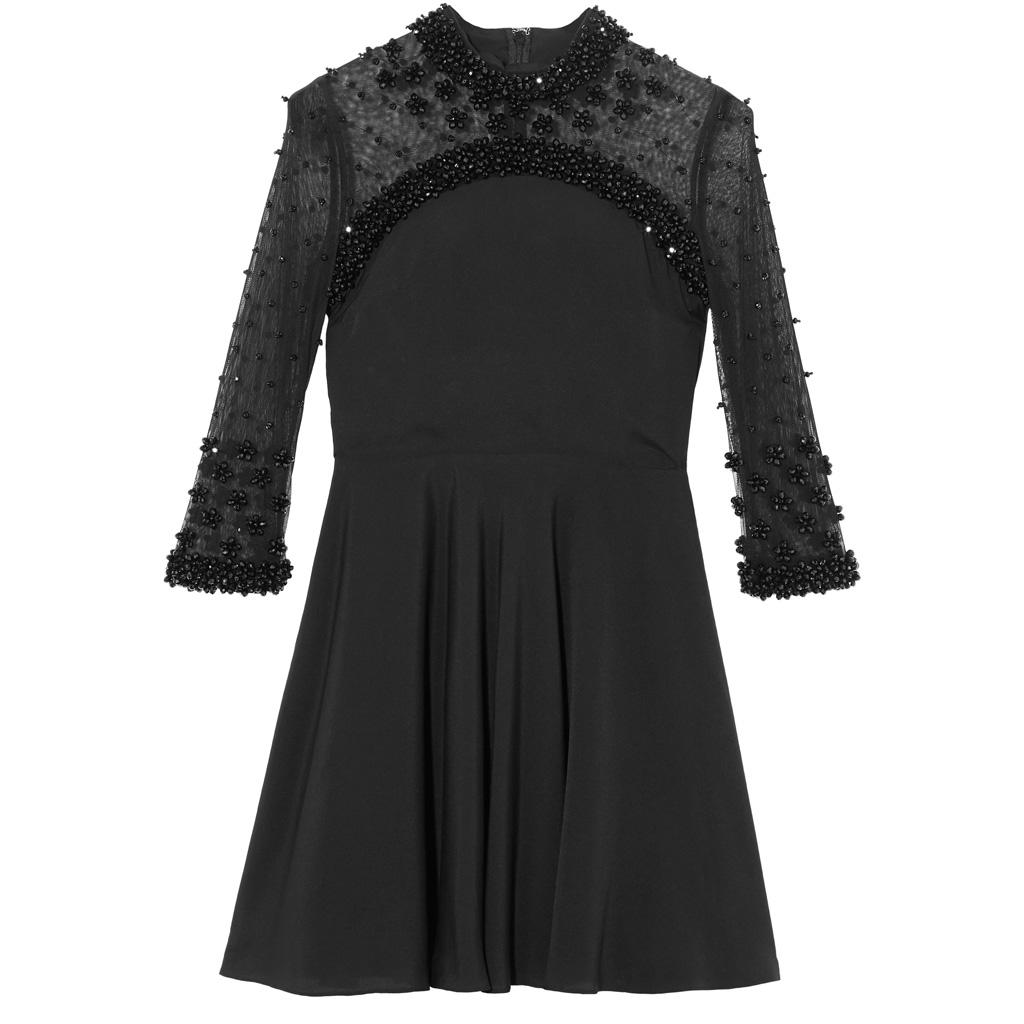 robe noire asos 50 robes du soir qui ne passent pas. Black Bedroom Furniture Sets. Home Design Ideas