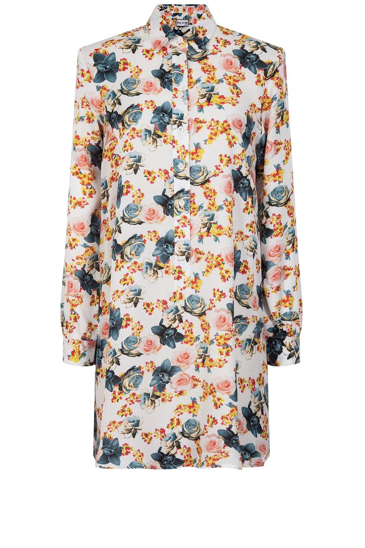 robe chemise paul joe 20 robes chemises pour tre chic et cool la fois elle. Black Bedroom Furniture Sets. Home Design Ideas