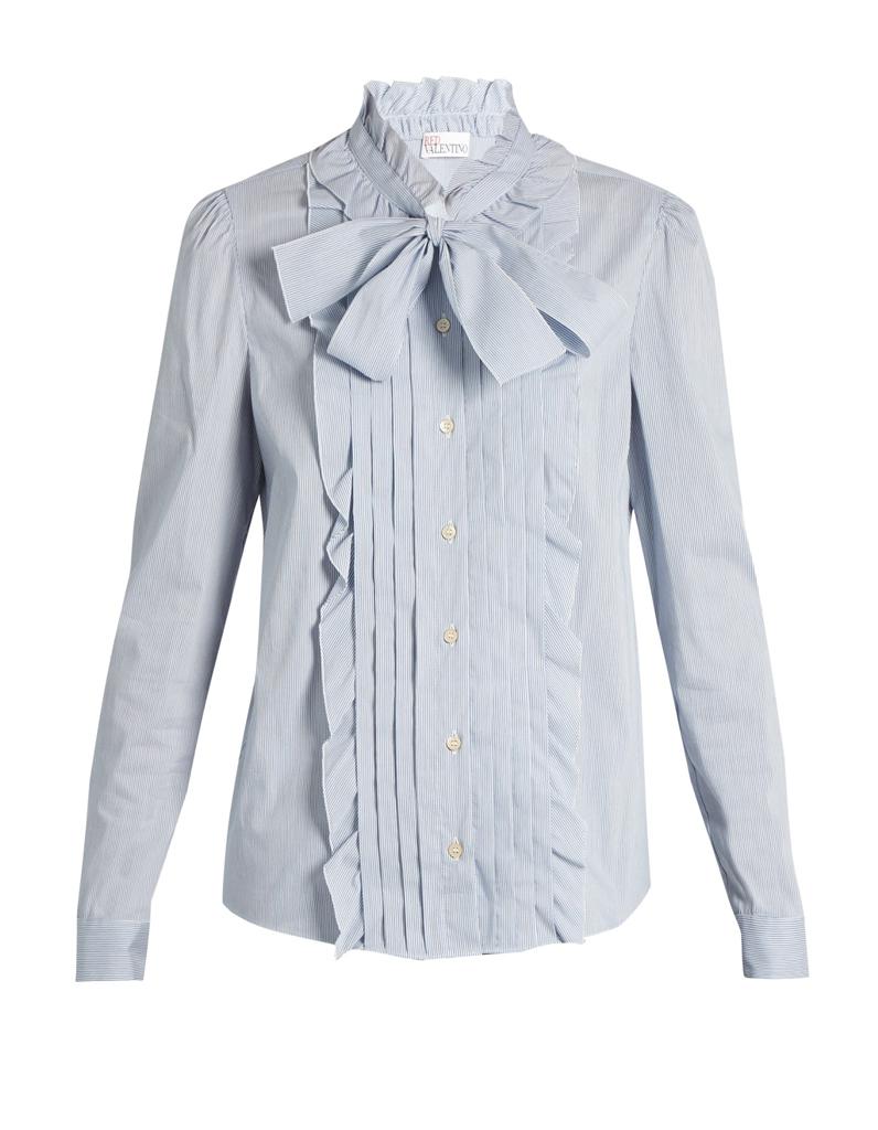 chemise femme noeud lavalli re 21 chemises pour passer du bureau au resto elle. Black Bedroom Furniture Sets. Home Design Ideas