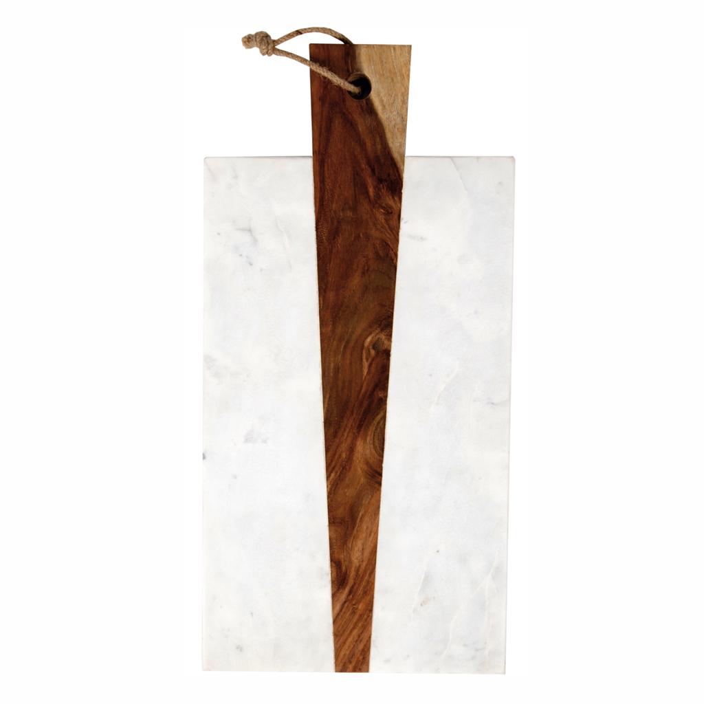 Une planche en bois et marbre No u00ebl plus de 100 cadeaux design Elle