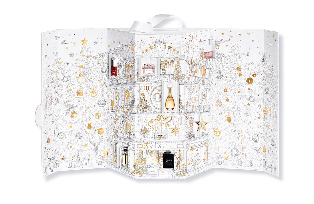 calendrier de l 39 avent dior des calendriers de l avent. Black Bedroom Furniture Sets. Home Design Ideas