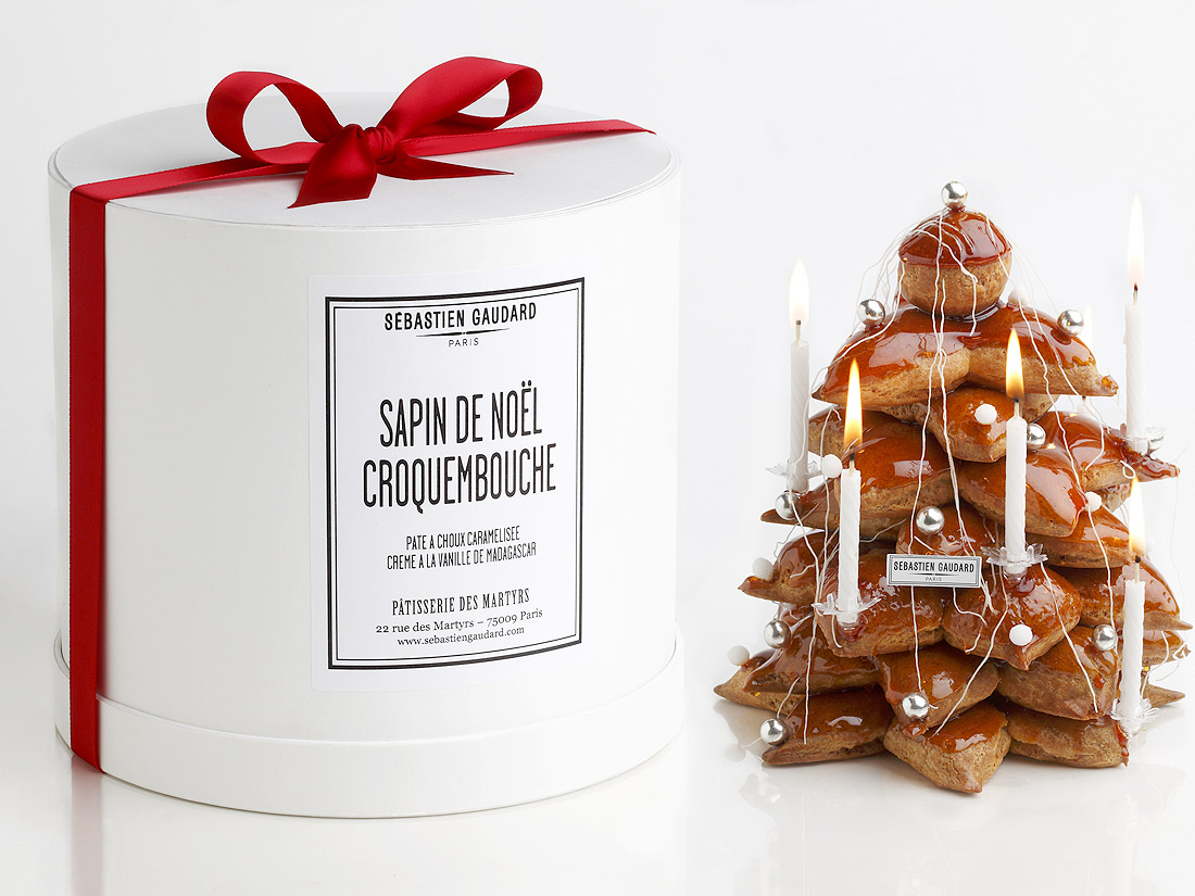 sapin croquembouche s bastien gaudard la p tisserie des martyrs 22 sapins d exception. Black Bedroom Furniture Sets. Home Design Ideas