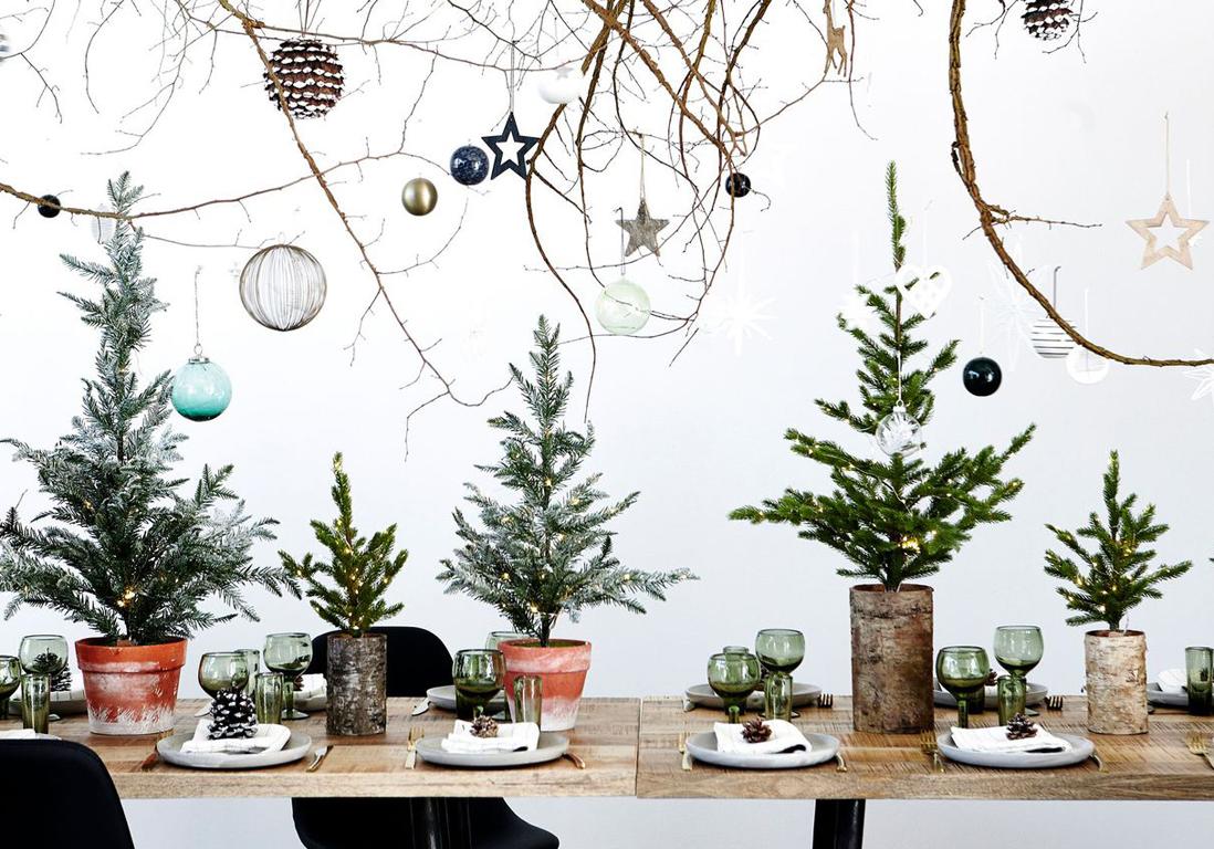 #6A452E Décoration De Table De Noël : Nos Idées Pour Une Centre De  6349 décoration noel à fabriquer soi meme 1098x768 px @ aertt.com