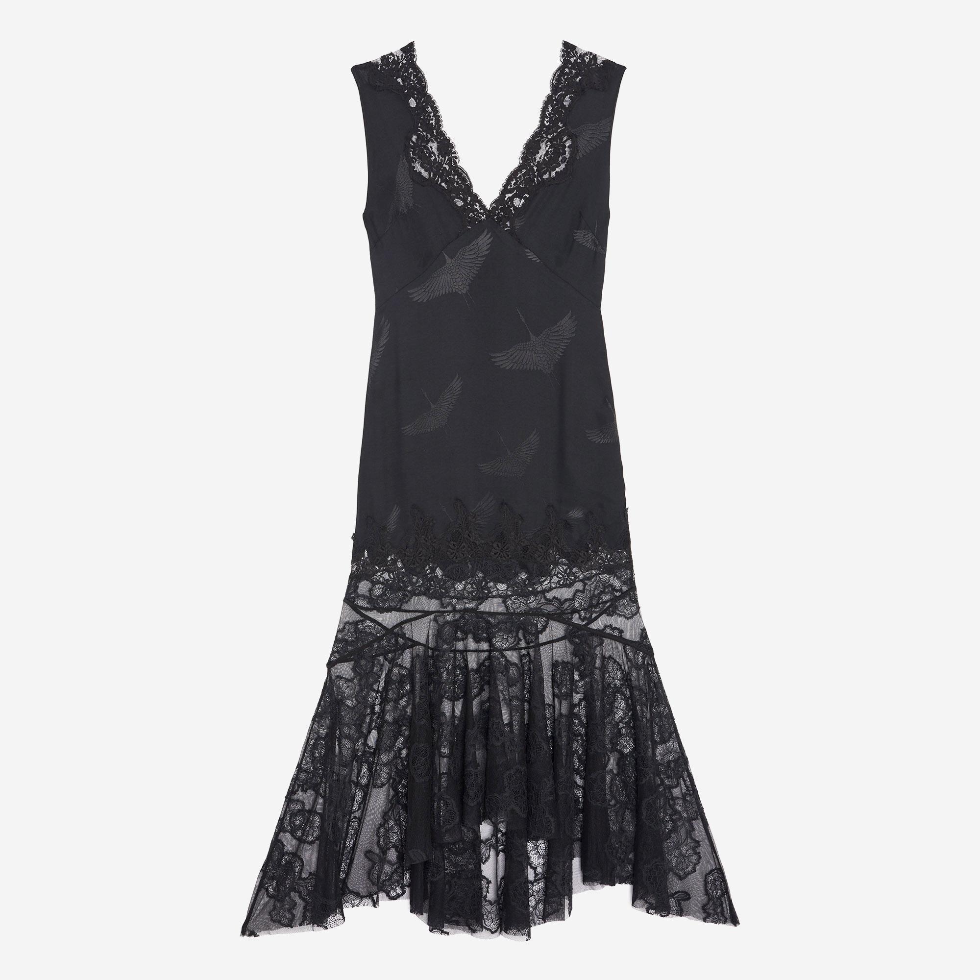 Sandro robe noire 2018