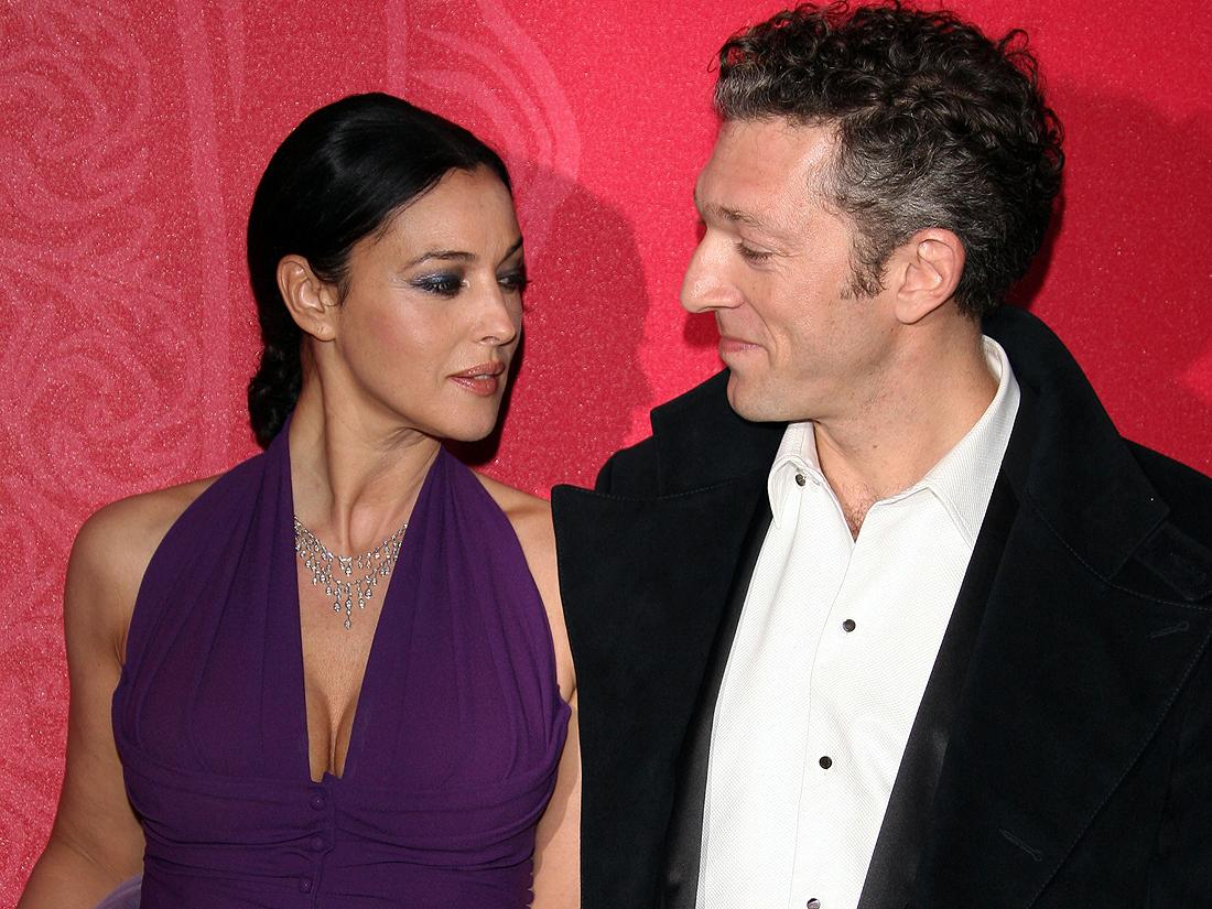 Monica Bellucci et Vincent Cassel - 50 couples mythiques ...