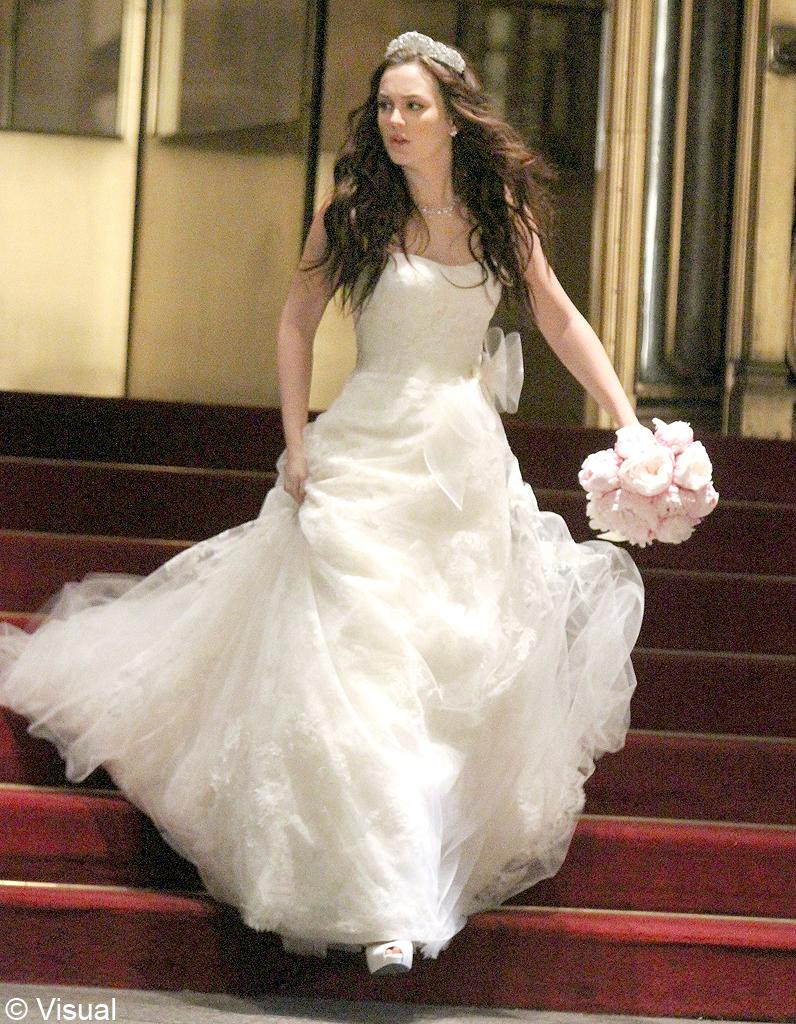 La robe de mari e de blair waldorf dans gossip girl for Photos de dysfonctionnement de robe de mariage