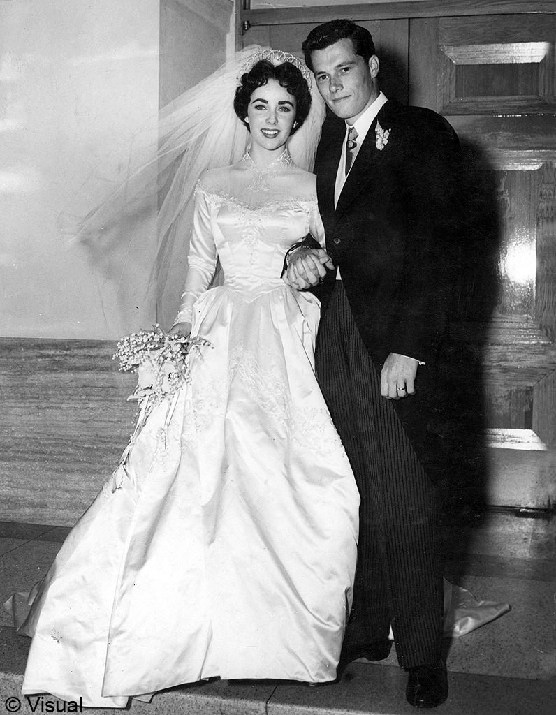 Le mariage de liz taylor et nick hilton les meilleures photos de mariage de stars elle - Les photos de mariage ...