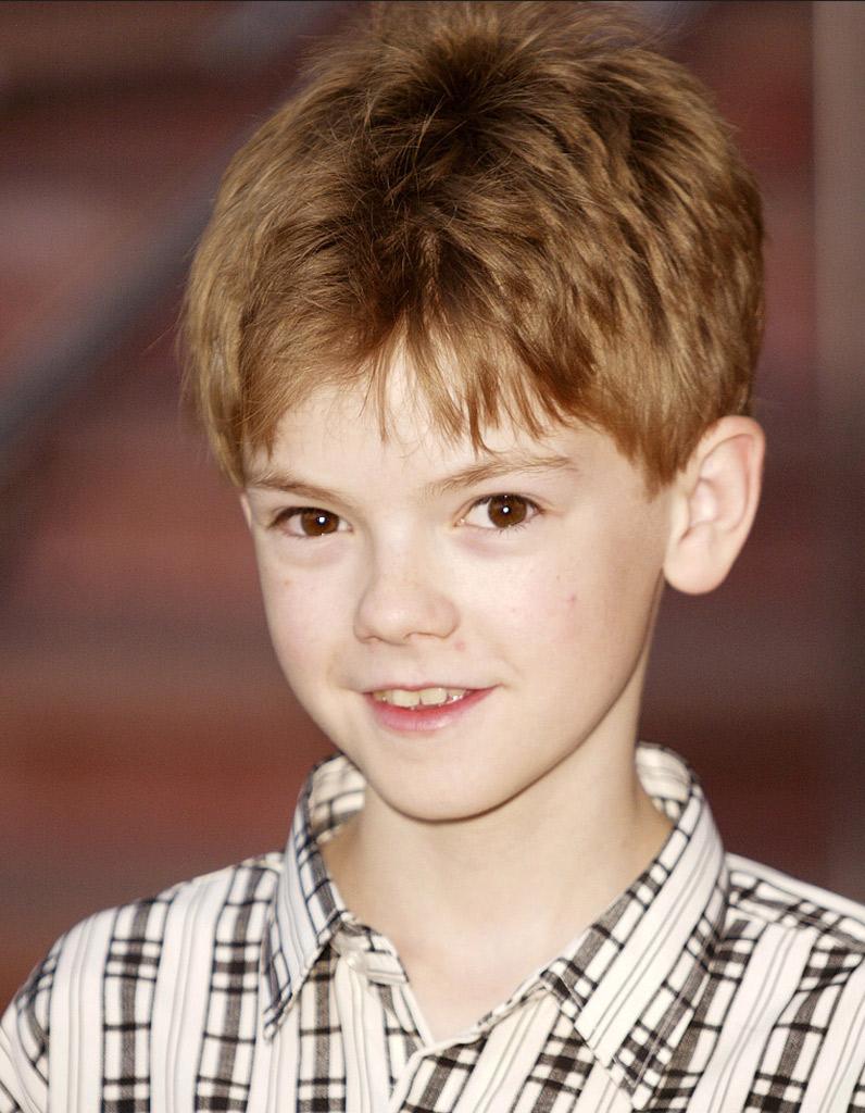 Thomas Brodie Sangster Enfant Enfants Stars Que Sont