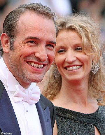 Jean dujardin et alexandra lamy la love story d un gars for Enfants de jean dujardin