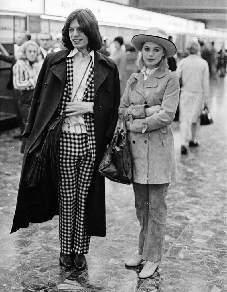 Marianne Faithfull Le Clan Jagger Femmes Enfants Et Rock N Roll Elle