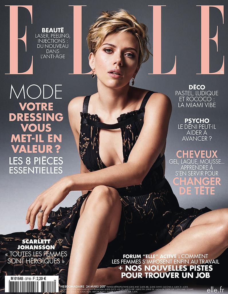 Extrêmement Scarlett Johansson en couverture de ELLE cette semaine ! - Elle VA44