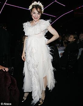 people tapis rouge fashion week paris julie depardieu sonia rykiel d fil s printemps ete 2009. Black Bedroom Furniture Sets. Home Design Ideas