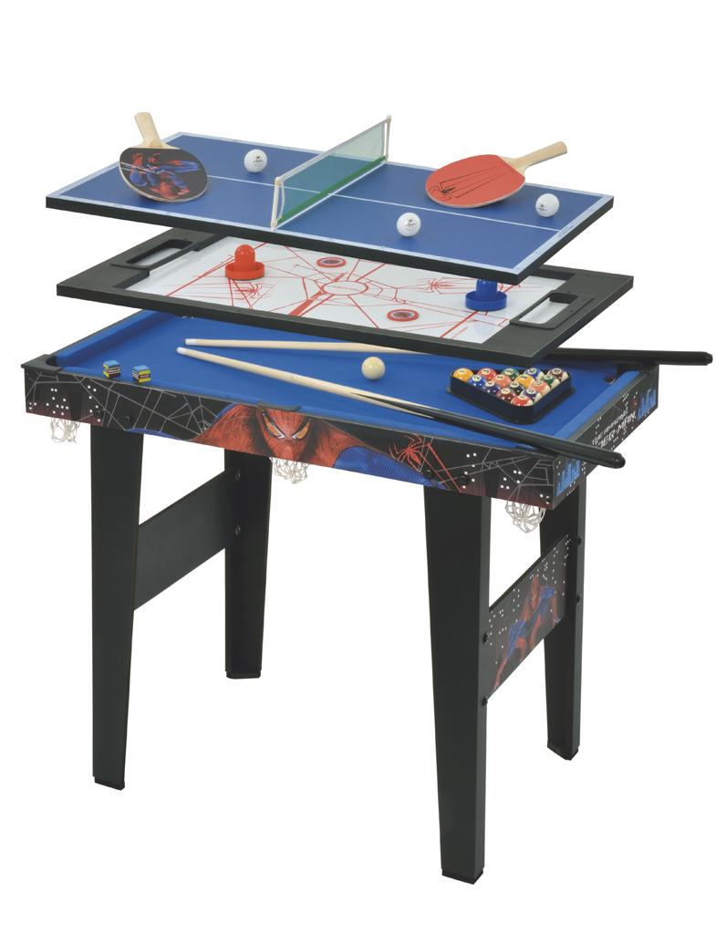 Table 3 en 1 spider man la grande r cr 25 cadeaux for Table 3 en 1