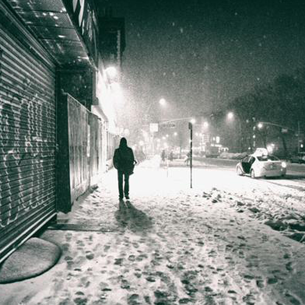 tempete de neige a new york