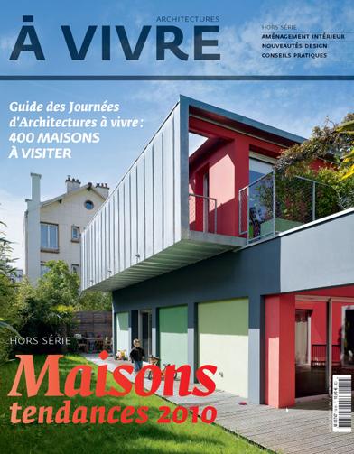 Les journ es d 39 architectures vivre dix maisons vertes for Architecture a vivre magazine